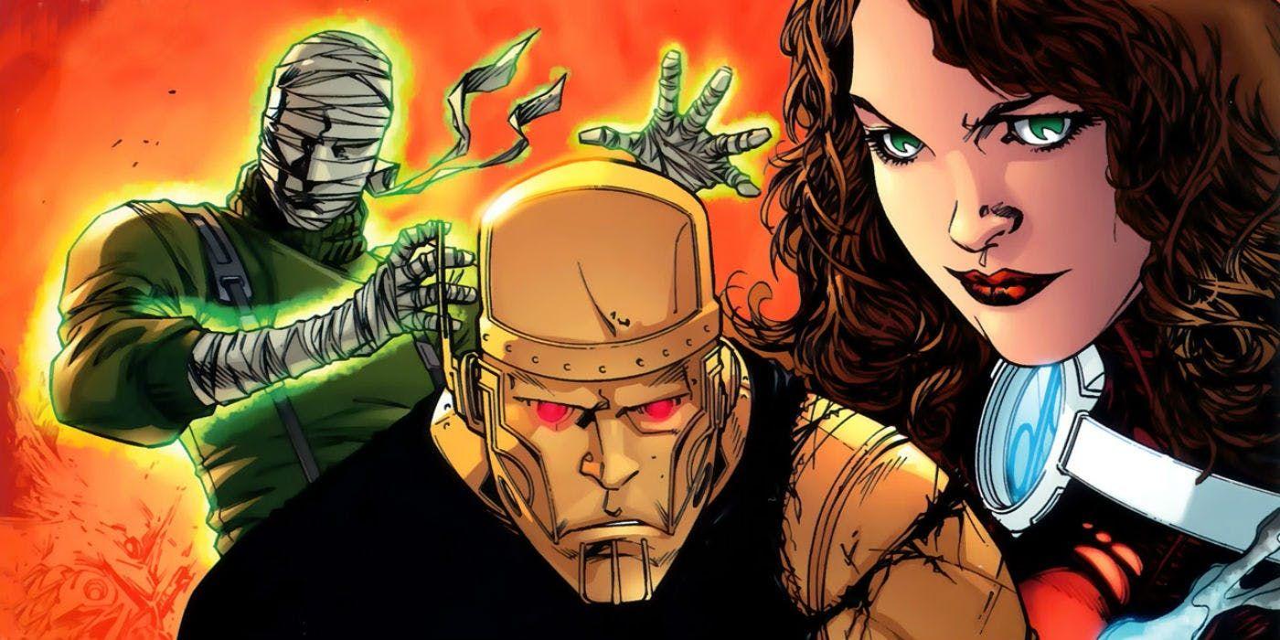 Idea by L Bruce on Robotman Doom patrol, Comic covers