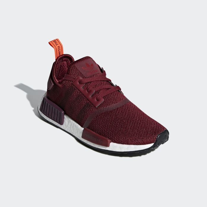 NMD_R1 Shoes Noble Maroon 7.5 Womens in 2019 | Nmd r1