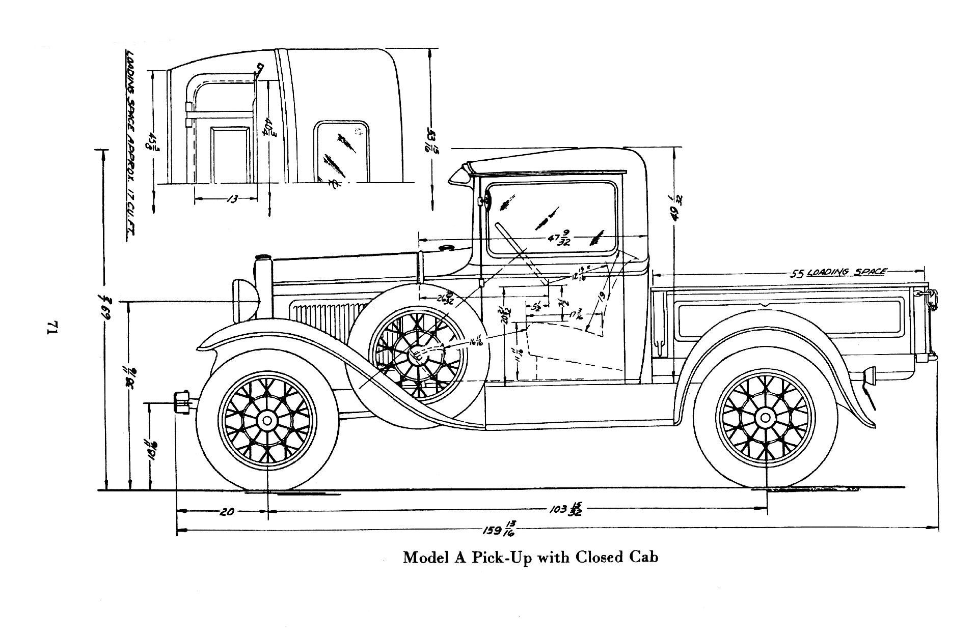 The ford model tt is a truck made by ford. Description