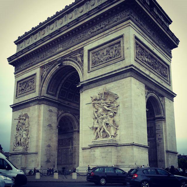 Arc du Triomphe in #Paris     #travel #europe #france