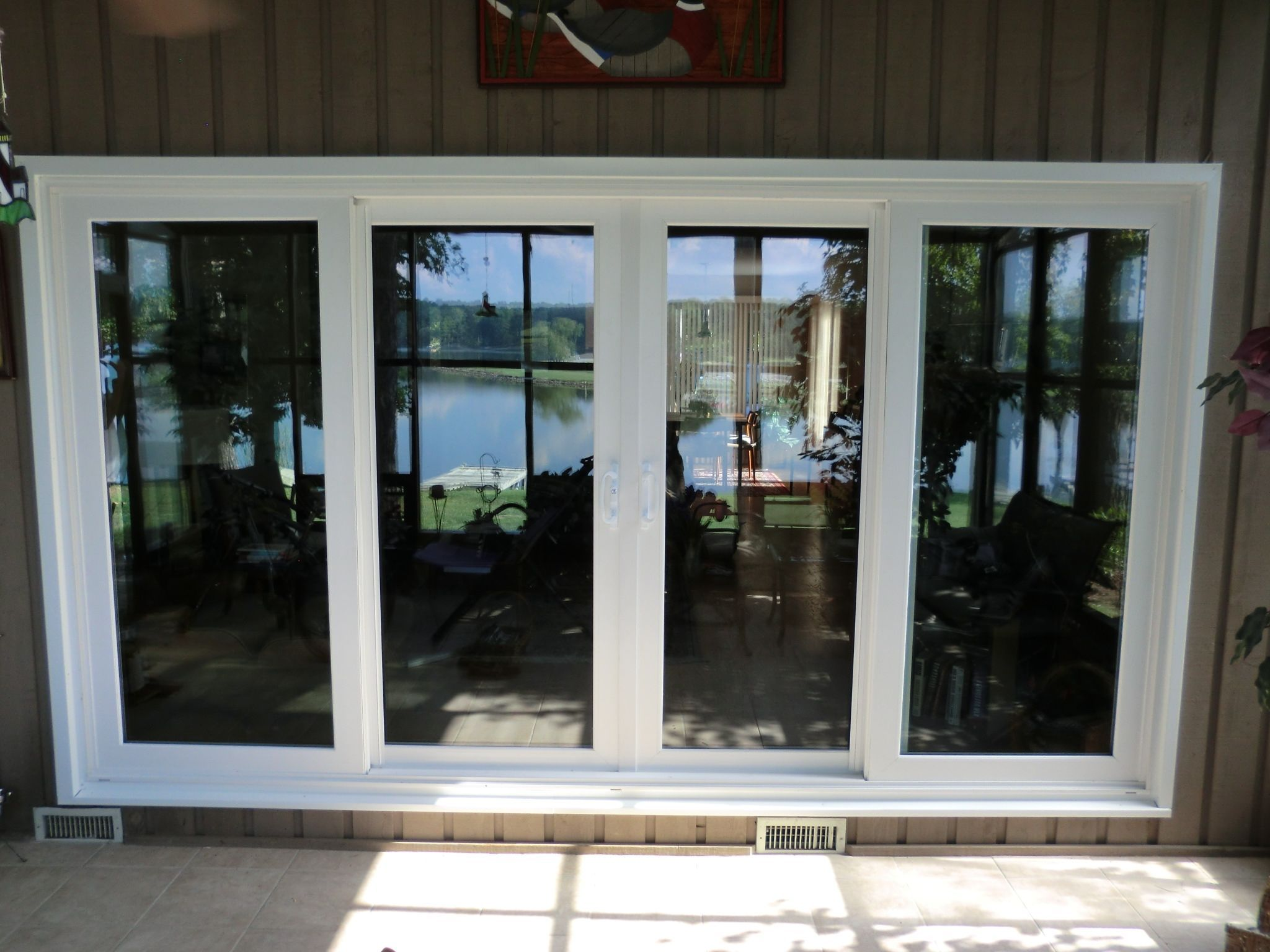 Sliding Patio Doors With Side Panels Sliding French Doors Glass