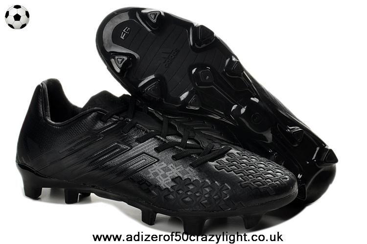 Adidas Predator LZ (All Black) TRX FG