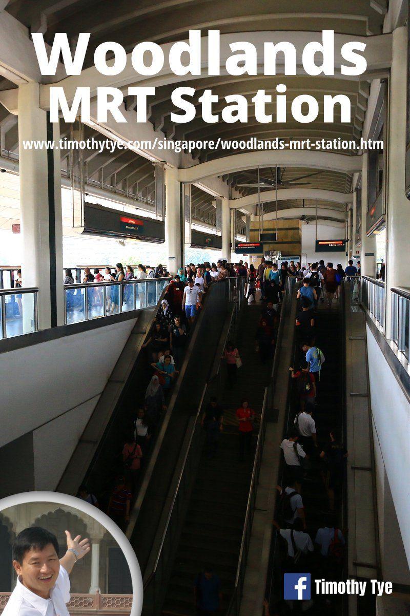 Woodlands MRT Station (NS9/TE2) Station, Woodlands