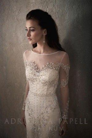 Adrianna Papell 31032 Roberta Wedding Dress | MadameBridal.com