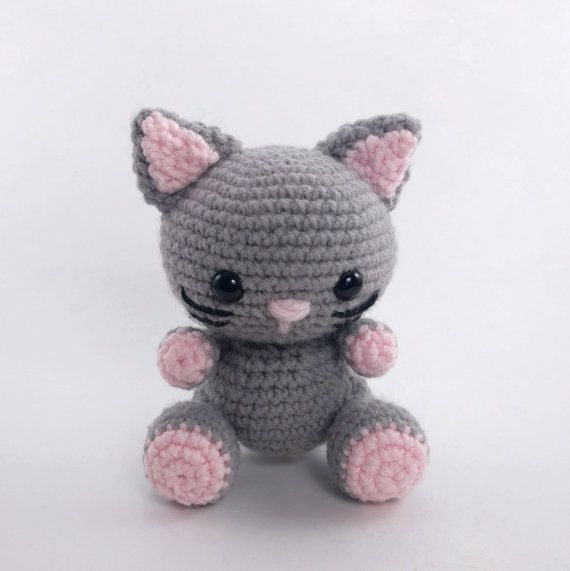 PATTERN: Crochet cat pattern - amigurumi cat pattern - crocheted ...