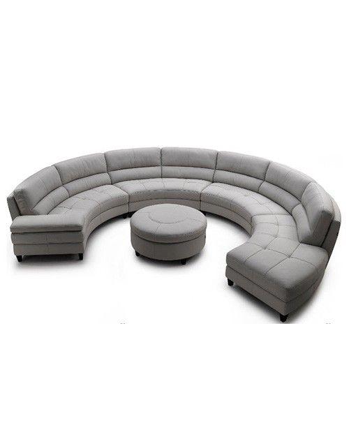 Large Circular Sectional Sofas: Large Round Sectional Sofa