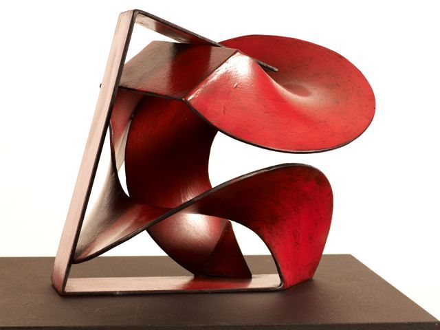 red - sculpture - Russell McQuilty