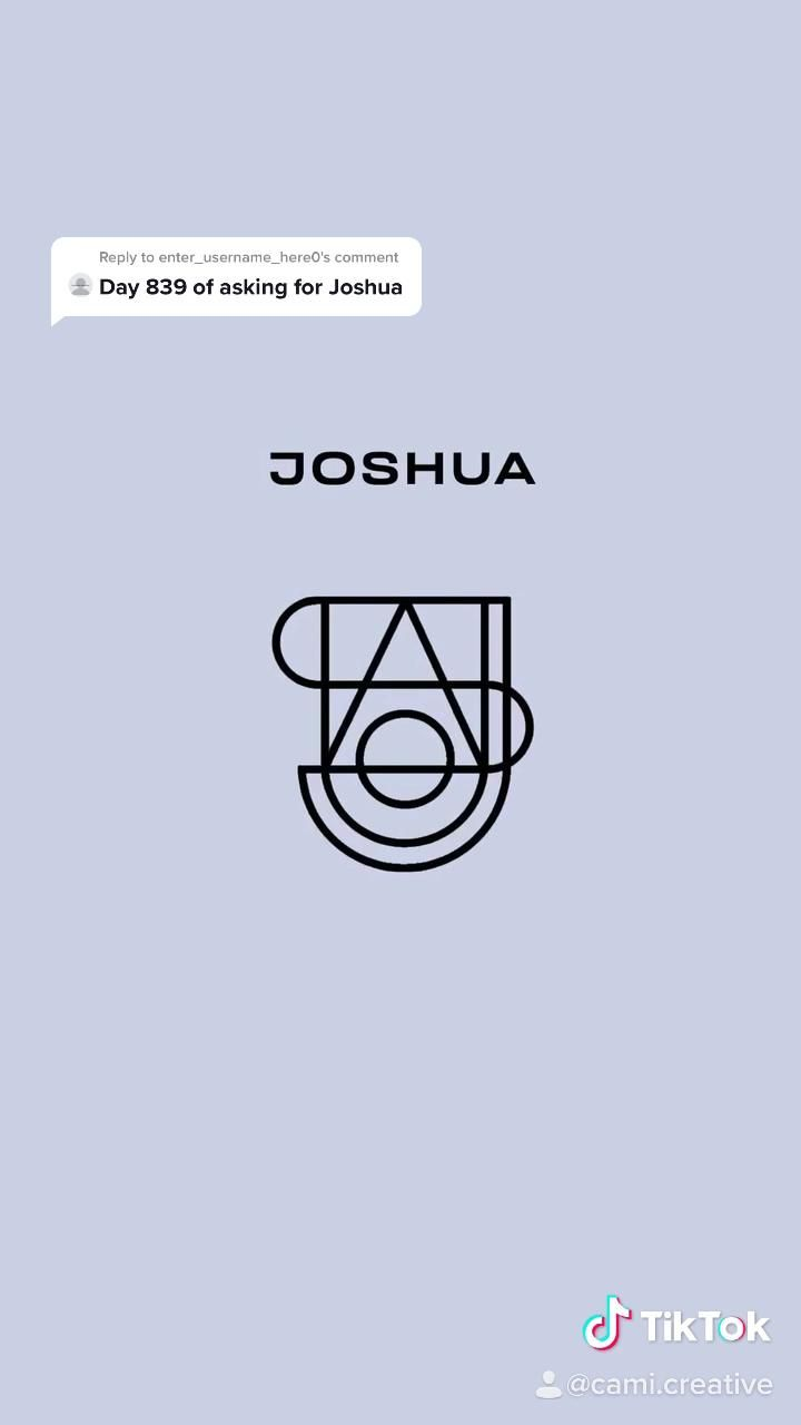 Name Logo Design Joshua Video Logo Design Trends Personal Logo Design Graphic Design Typography