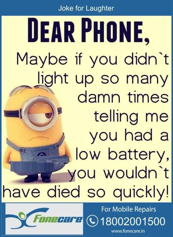 When it comes to Leisure Very funny jokes, Funny minion