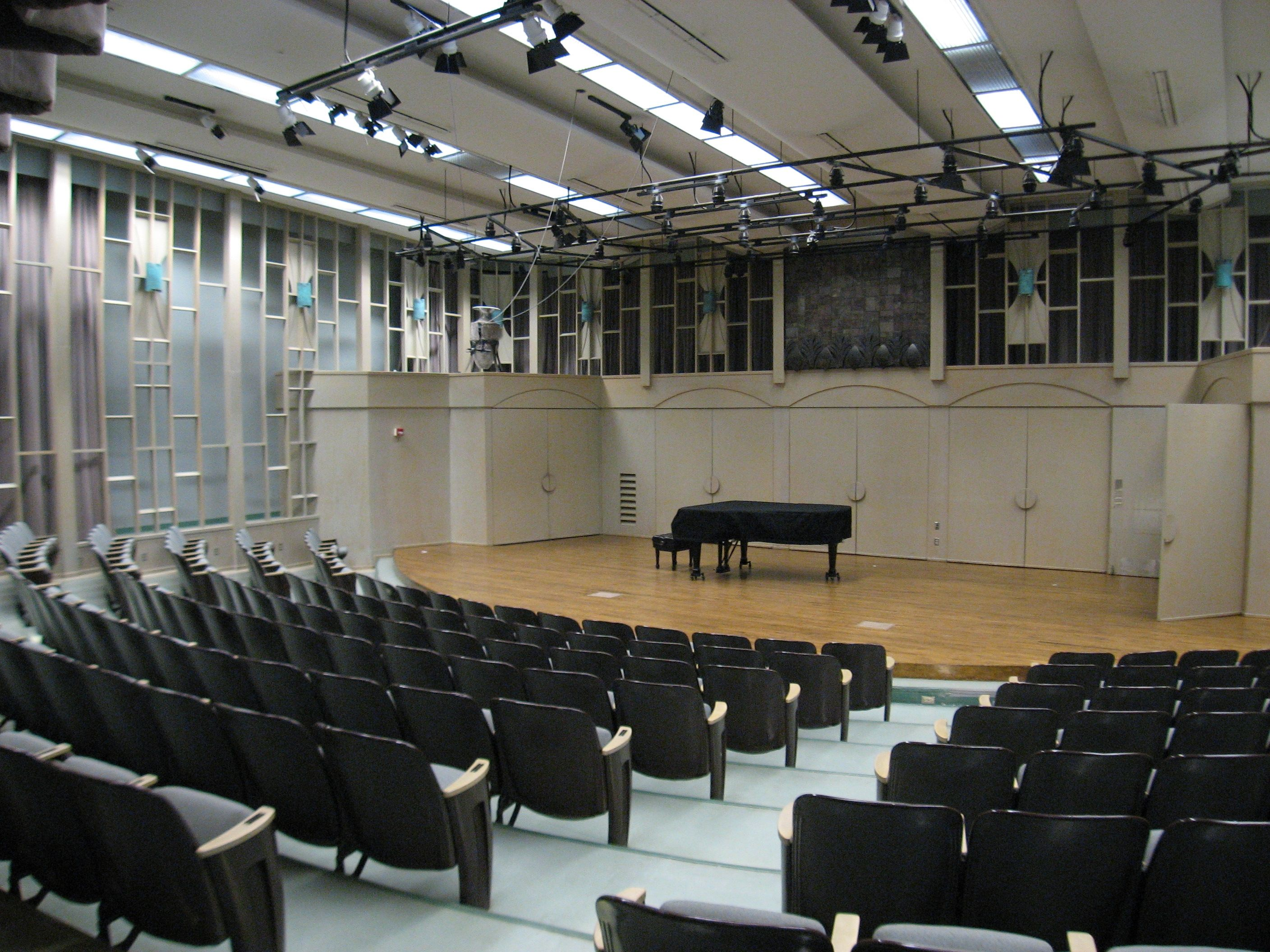 Recital Hall In Cypress Hall California State University