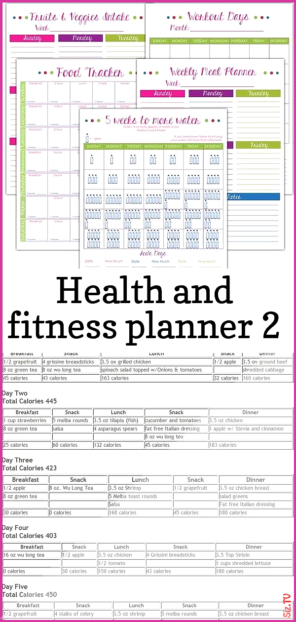Health and fitness planner 2 Health and fitness planner 2 John Cole jcole4113 Fitness health and fit...