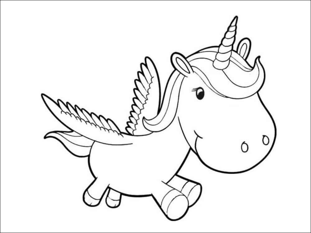 Dessin Imprimer Licorne