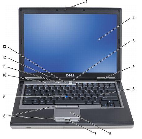 about your computer dell latitude d630 d630c user s guide rh pinterest com Dell Latitude E6520 Dell Latitude E6520
