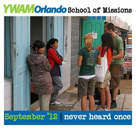 There are still people who have never heard the gospel. We must GO! Sign up today for the School of Missions!