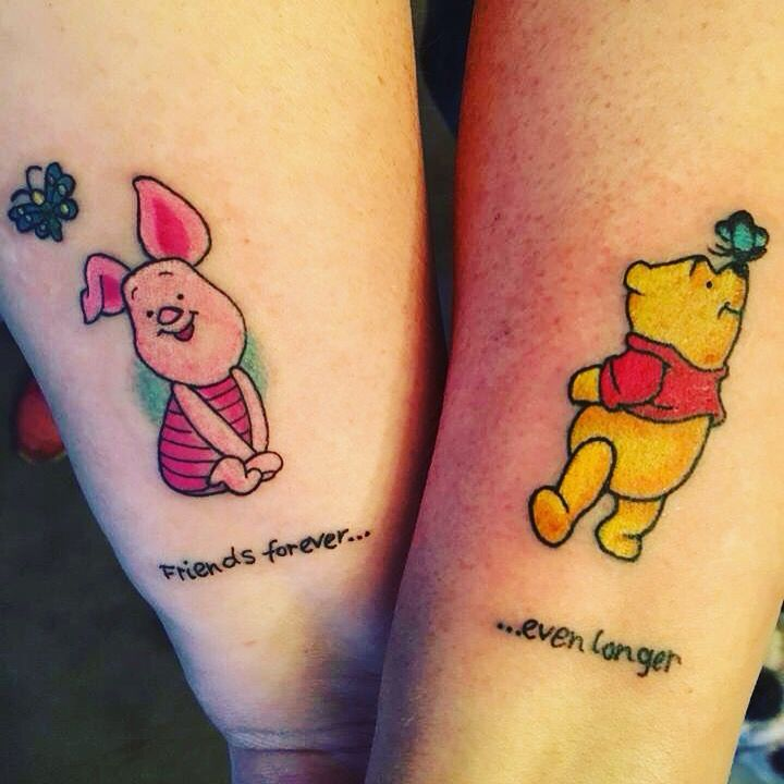 Best Friend Tattoo With My Bestie I Can Always Count On Her