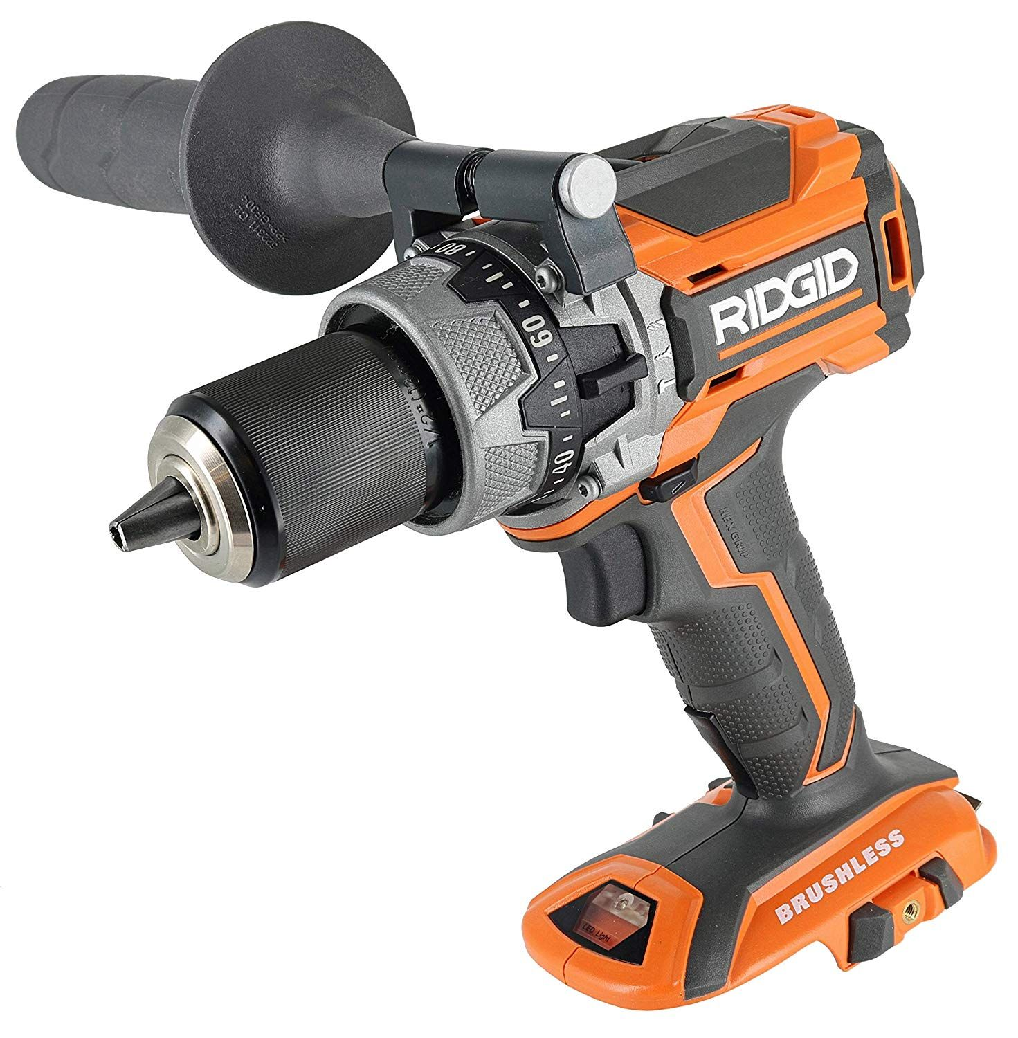Ridgid R86116 18v Lithium Ion Cordless Brushless Compact Hammer Drill W 100 Setting Micro Clutch And Led Lighting Battery Not Included Power Tool Only Hammer Drill Drill Power Tools