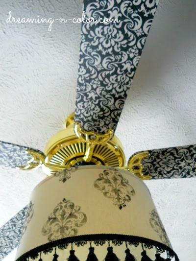 Ceiling fan blades covered with fabric front bedroom ideas ceiling fan blades covered with fabric aloadofball Images