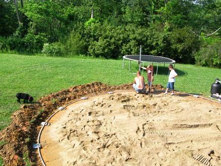 Rien de tel qu 39 un lit de sable pour accueillir votre for Installation piscine hors sol
