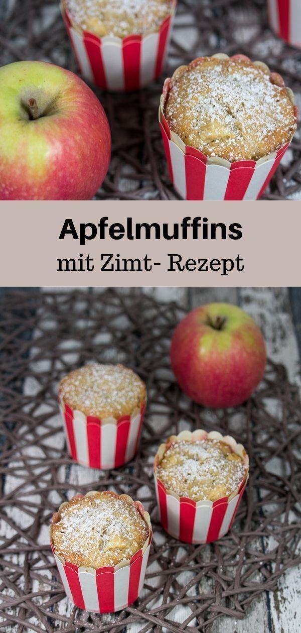 Apfel-Zimt-Muffins Rezept - MakeItSweet.de