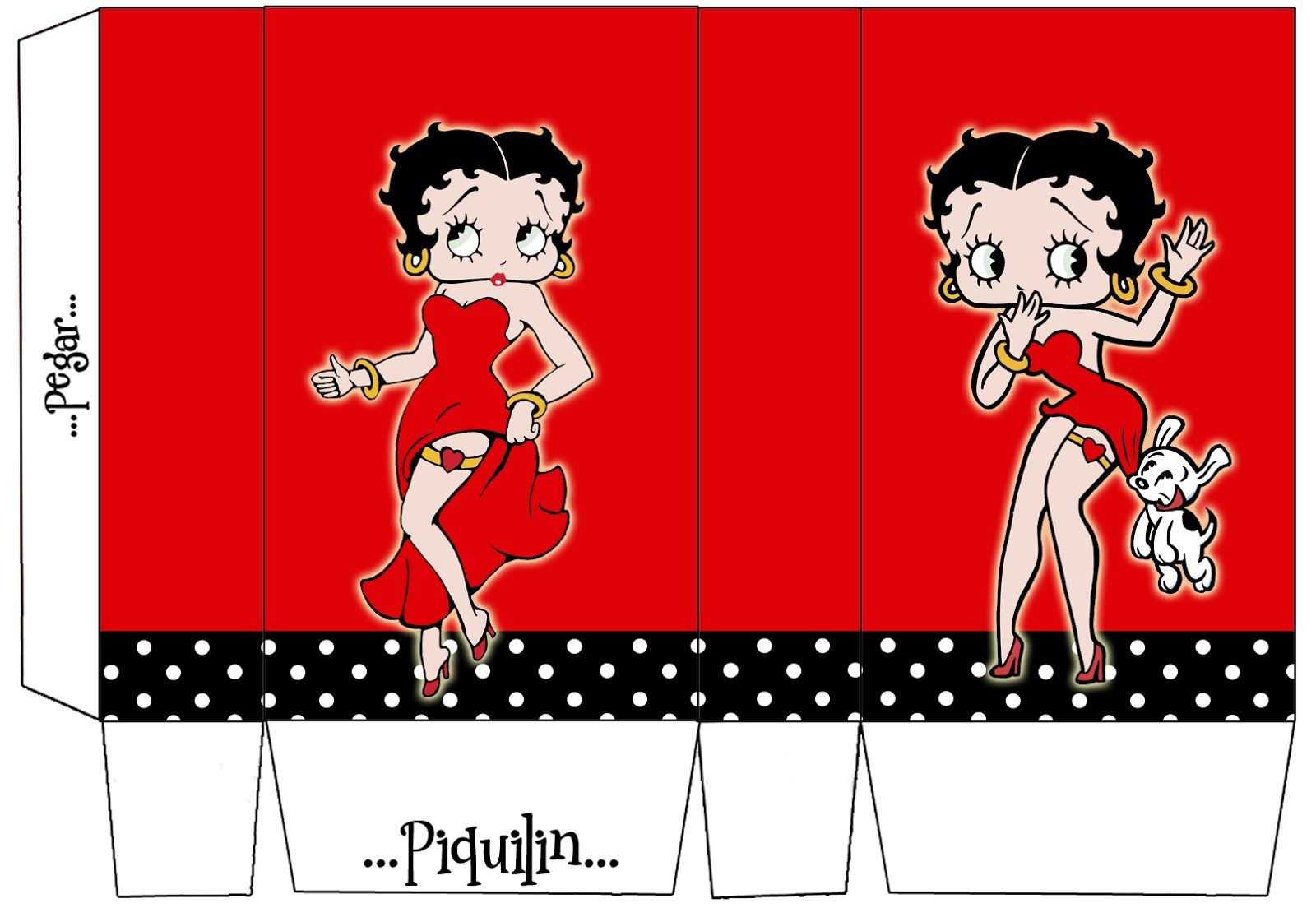 Betty Boop: Free Printable Mini Kit. | Janet | Pinterest | Kits ...