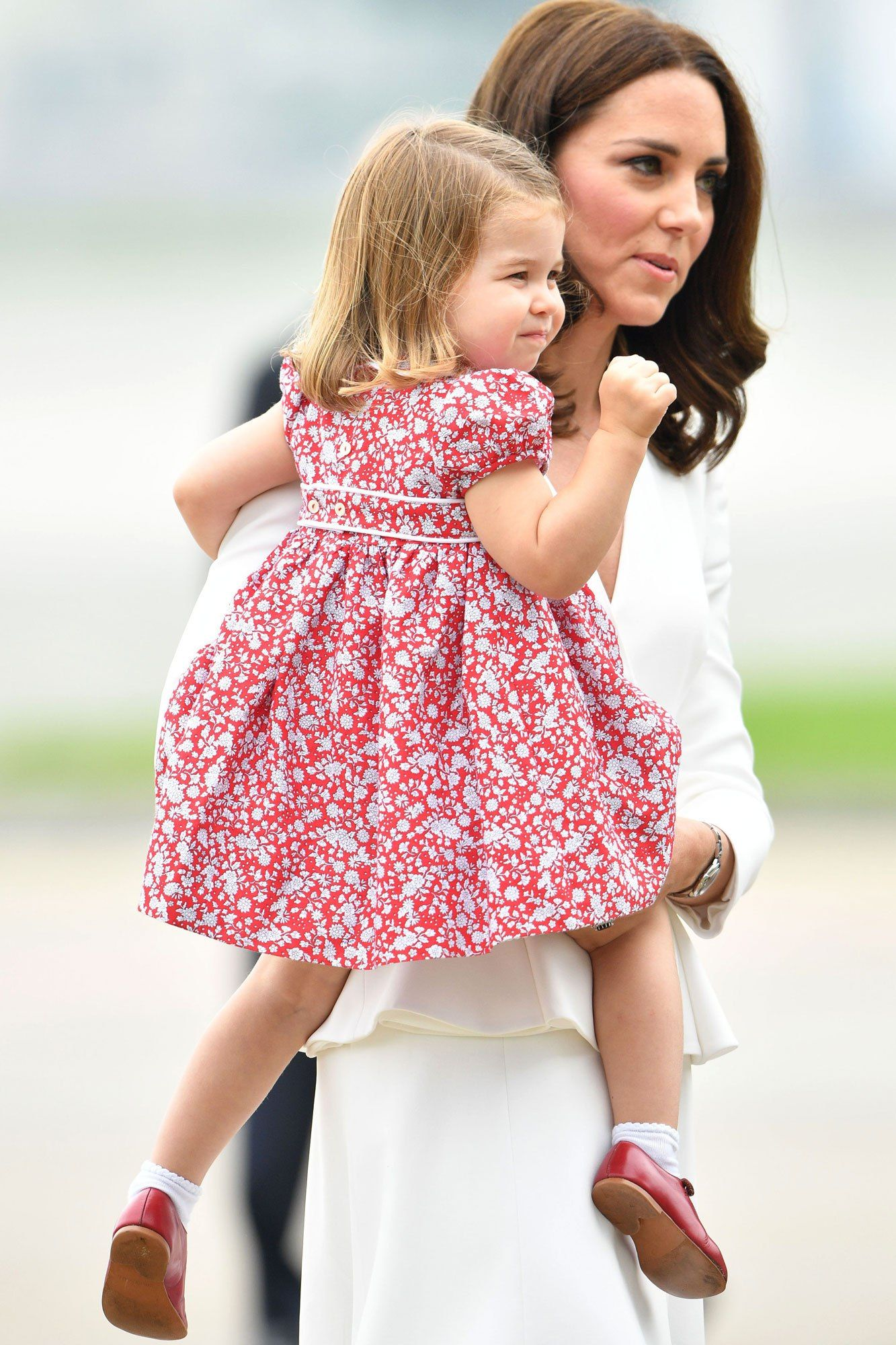 The Royal Fab 4 Take Poland! William, Kate, George and Charlotte ...