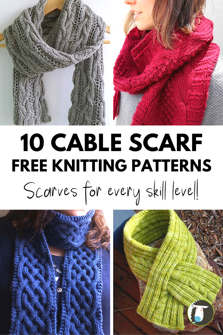 Photo of 10 Cable Scarf Free Knitting Patterns — Blog.NobleKnits