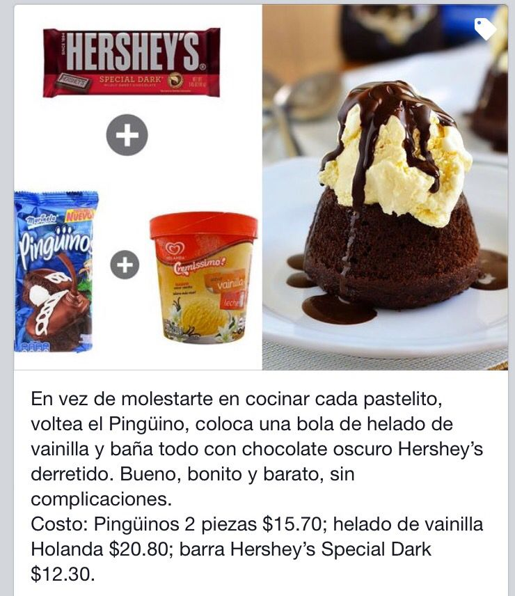 Ping inos sweet recipes ideas for Platillos faciles y rapidos