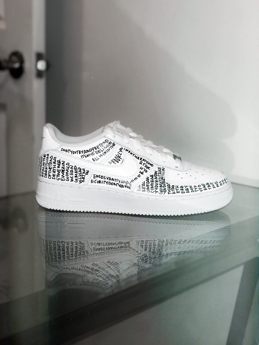 Nike Air Force 1 Low with Lace Custom Design