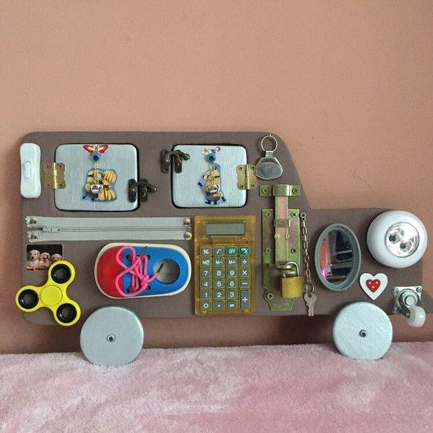 Entzuckend Auto Aus Holz 50x25cm, Geschenk Für Kinder Wir Fertigen BusyBoards Und  BusyCubes Auf Bestellung Ganz