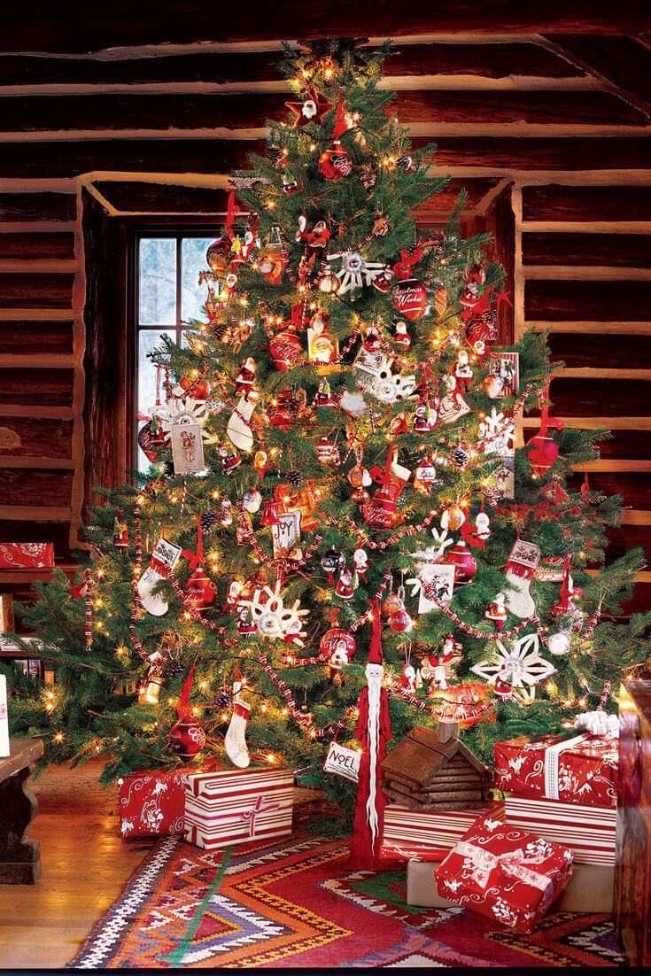 christmas tree decorating ideas world of makeup and fashion - Christmas Tree Country Decorating Ideas