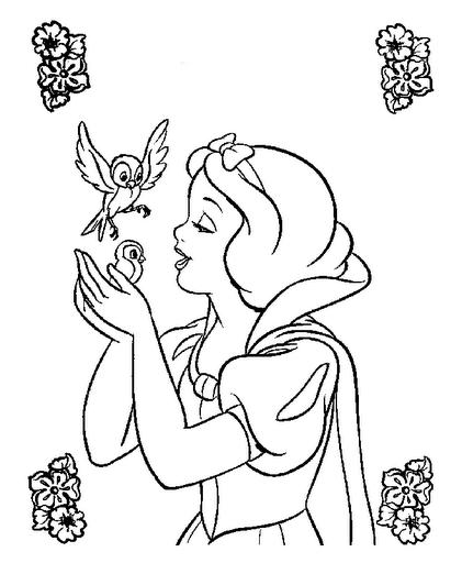 Dibujos Y Plantillas Para Imprimir Dibujos Princesas Disney Blanca Nieves Para Colorear Dibujo De Blancanieves Paginas Para Colorear Disney