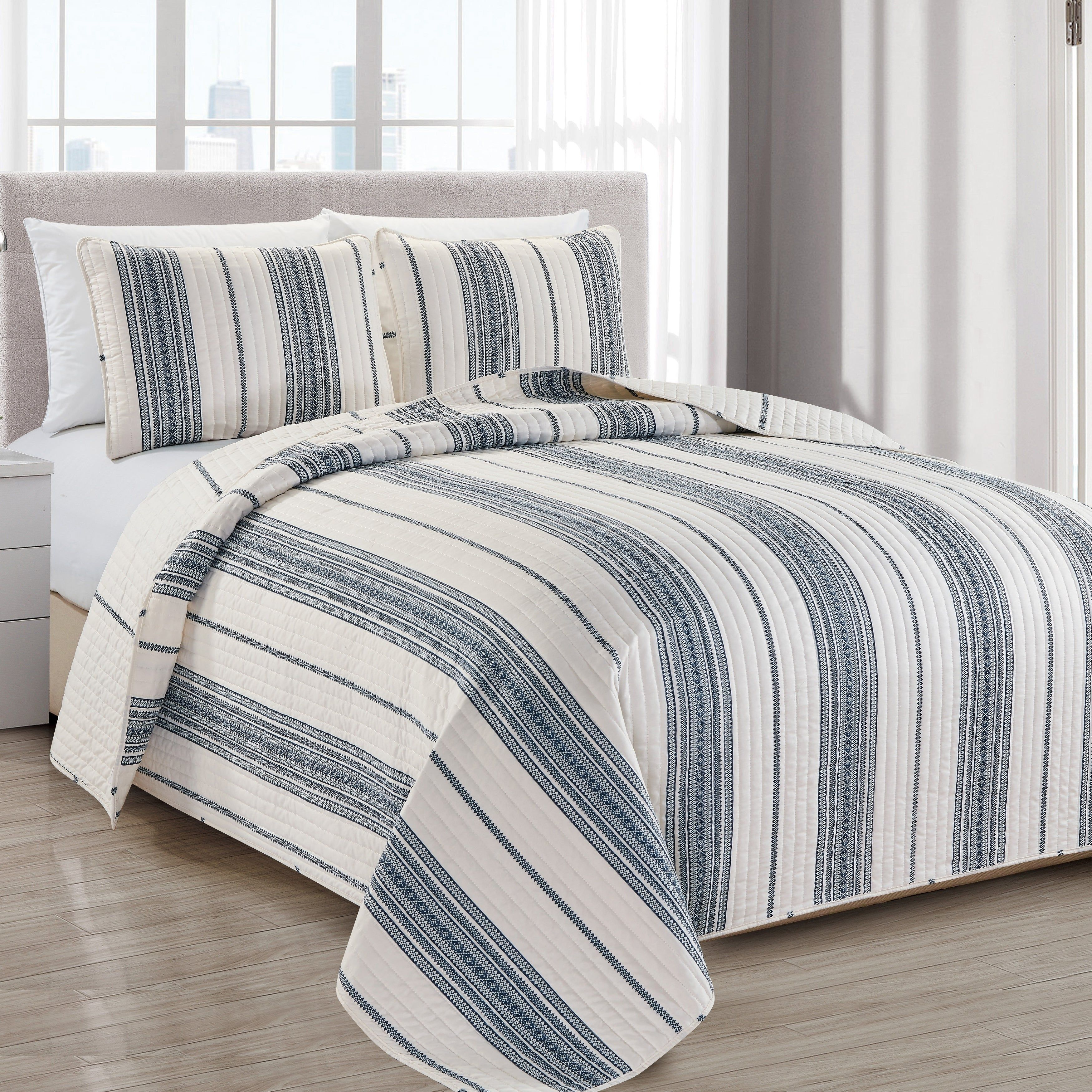 Online Shopping Bedding Furniture Electronics Jewelry Clothing More Quilt Sets Bed Spreads Striped Quilt