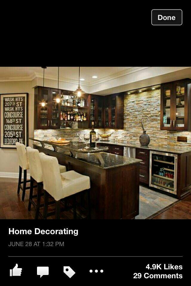 Cocina moderna con desayunador | cocinas | Pinterest | Cocina ...