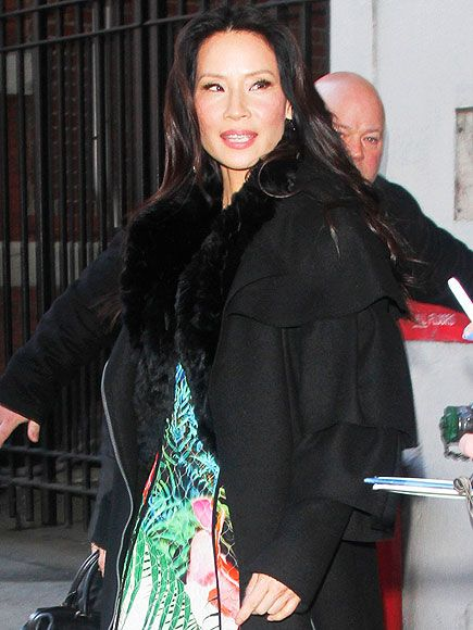 Star Tracks: Thursday, February 12, 2015 | MY DEAR WATSON … | Lucy Liu struts her stuff outside of CBS Studios in N.Y.C. on Wednesday, where she promoted the new season of her show Elementary.