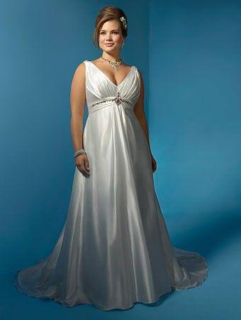 cde9e0d2fc Vestidos de Noiva para Gordinhas