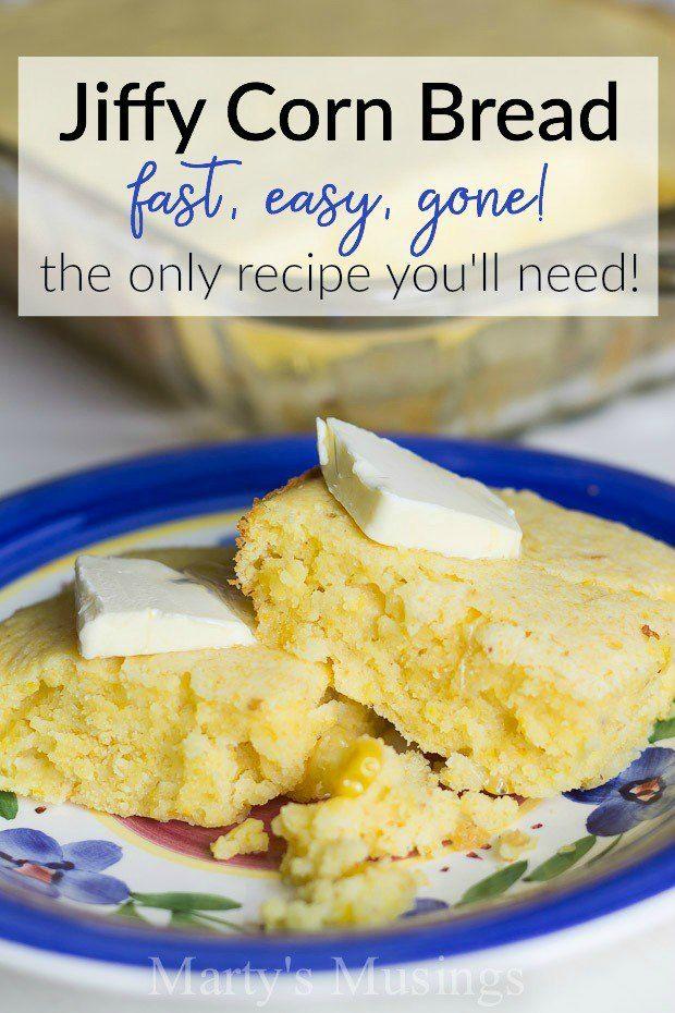 Jiffy Corn Bread Never Dry And So Easy To Make Recipe Sour Cream Recipes Corn Bread Recipe Jiffy Cornbread Recipe With Creamed Corn