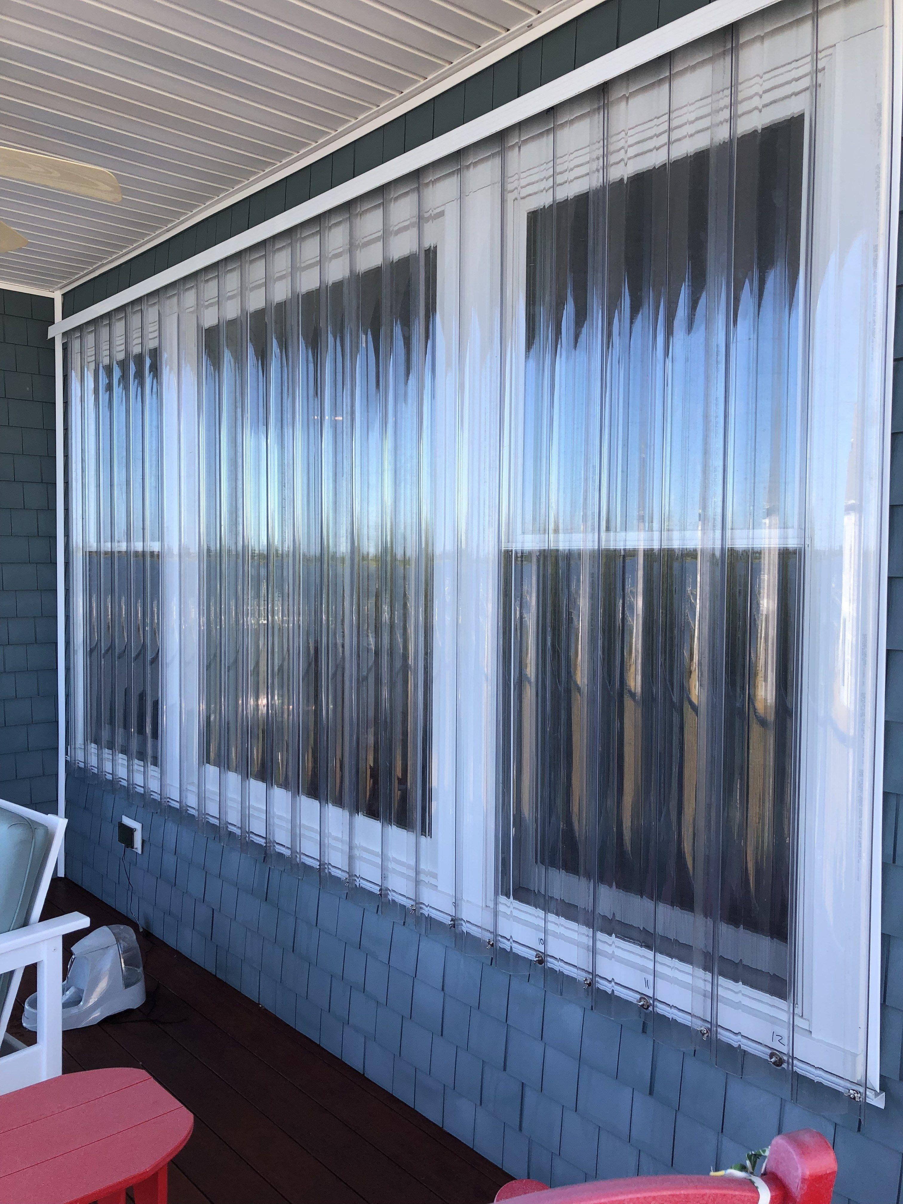 installing hurricane shutters on sliding glass doors