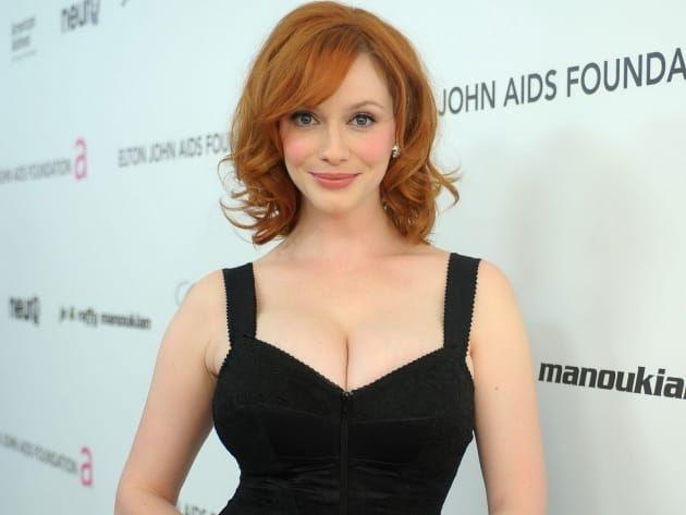 Redhead bigboob tv actresses