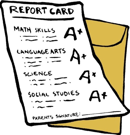 40++ Good report card clipart ideas in 2021