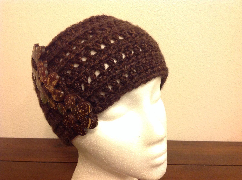 Handmade ear warmer headband. by GirlCanHook on Etsy https://www.etsy.com/listing/211486861/handmade-ear-warmer-headband