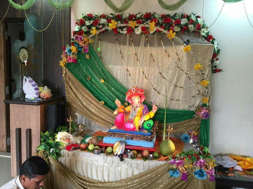 Ganpati Decoration Ideas at Home Ganesh