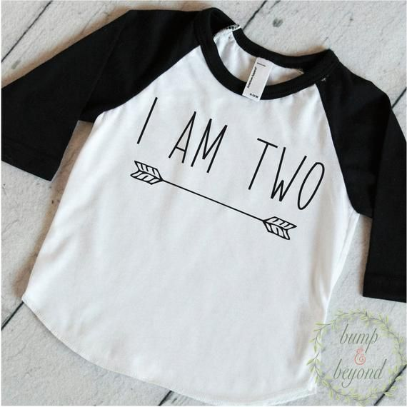 Two Year Old Birthday Shirt Boy 2 Years Outfit Raglan Toddler 2nd