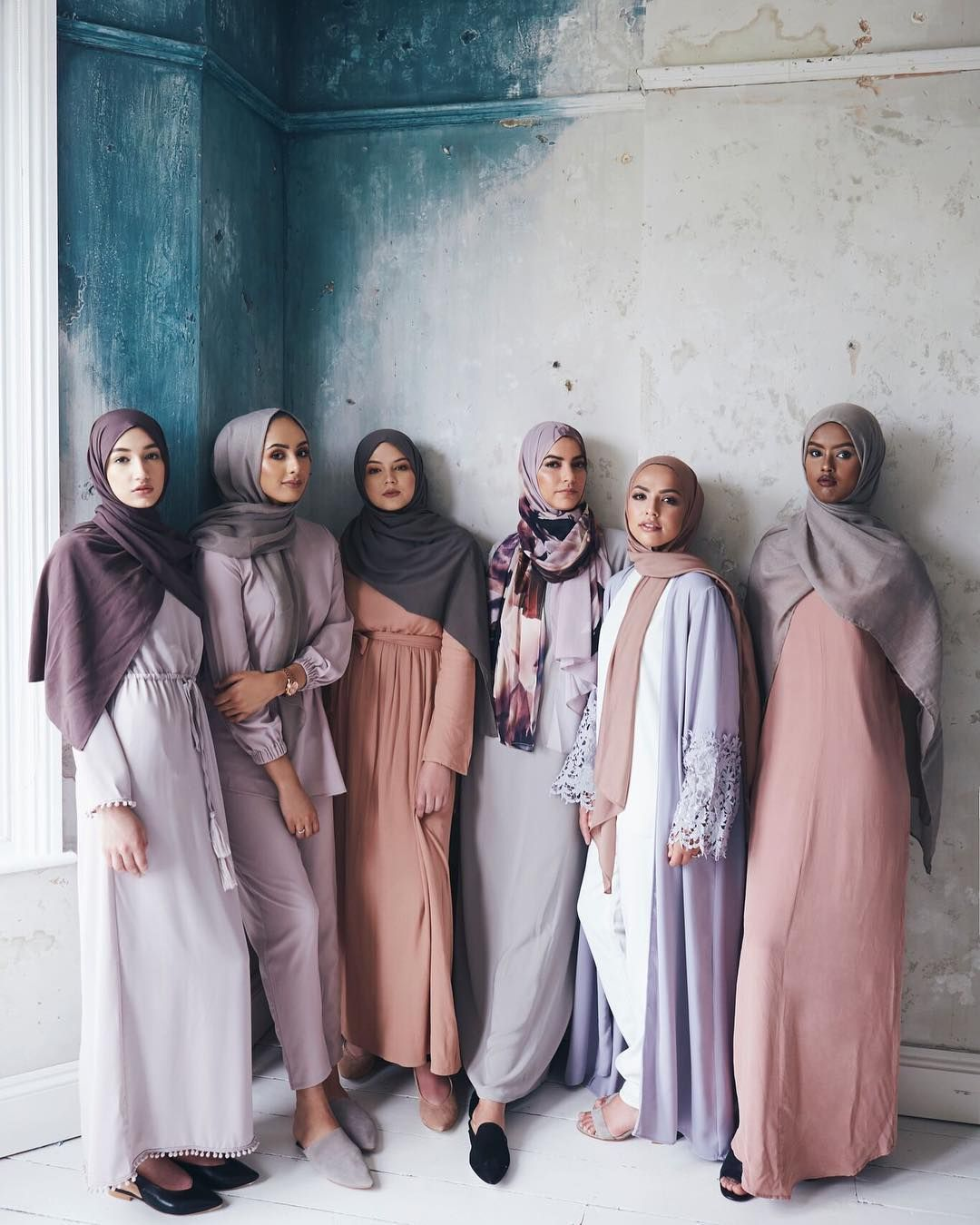 India Summer Tumblr Complete modest muslim fashion style pastel pale pink aesthetics tumblr