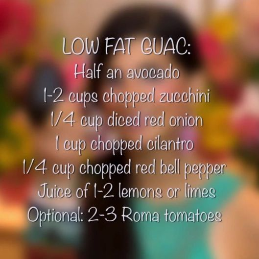 Raw - Low Fat Guacamole from Fully Raw Kristina