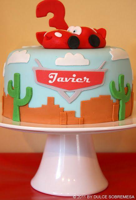 Disney Pixar S Cars 3rd Birthday Party Lighting Mcqueen Party
