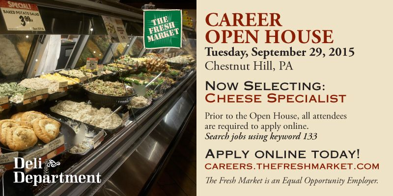Cheese Specialist Grocery Store Job Chestnut PA Job