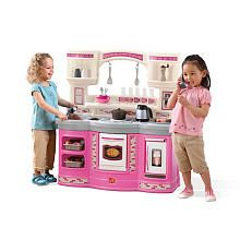 Step2 Prepare And Share Kitchen Set Pink Kids Play Kitchen