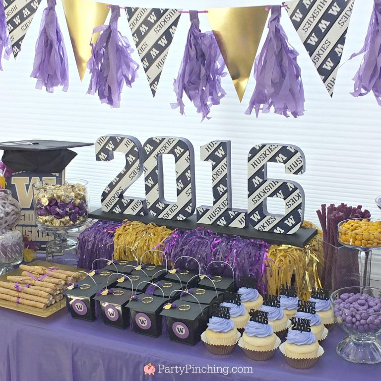 Awesome College Graduation Party College Graduation Dessert Table Home Interior And Landscaping Ologienasavecom