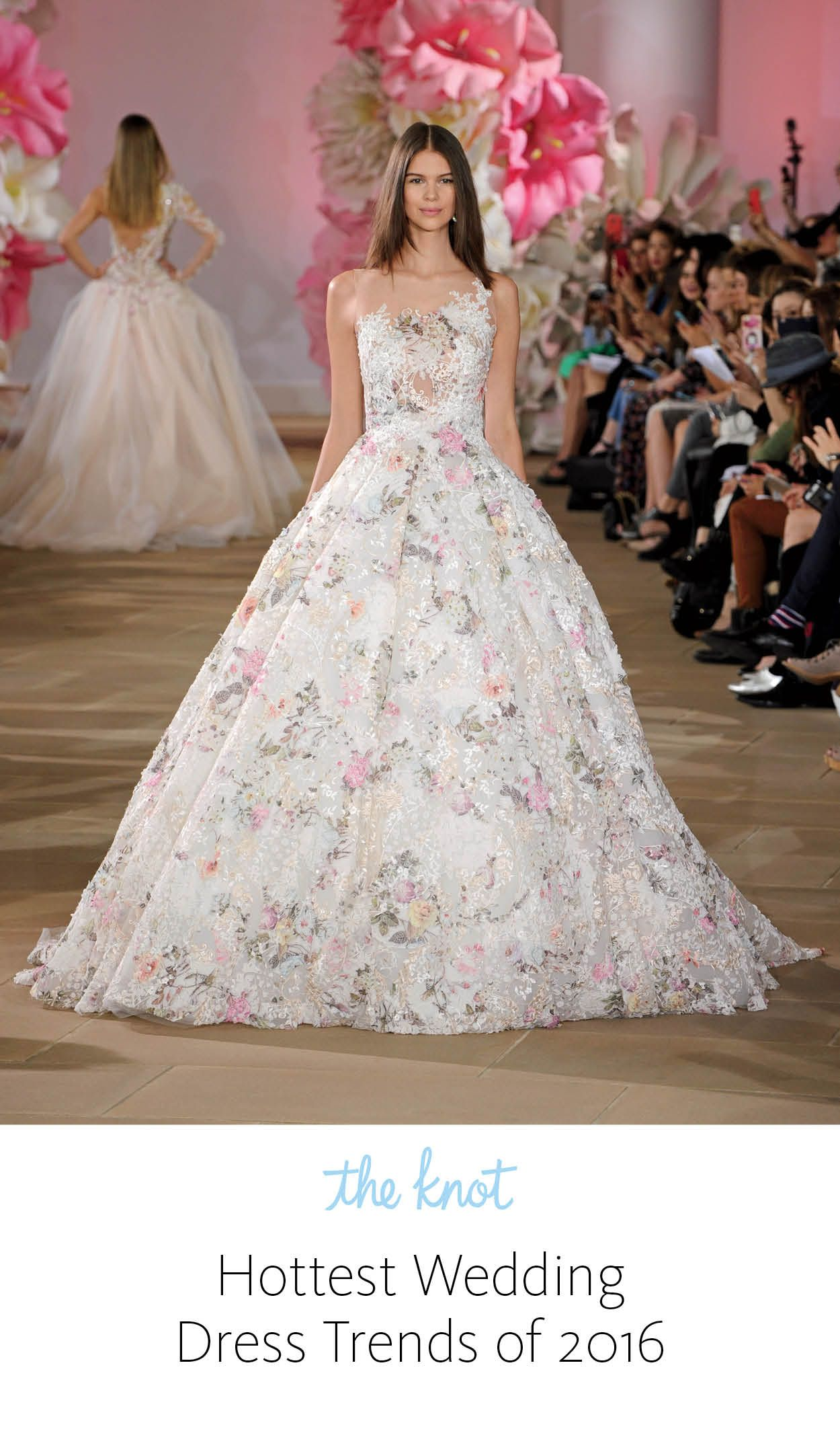 The Knot Summer 2016 in 2020 Colored wedding dresses