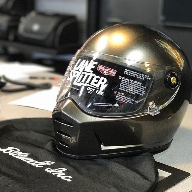 74d03f14238 Biltwell Lanesplitter Helmet Review   Motorcycle Helmets with style ...
